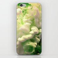 Green envy iPhone & iPod Skin
