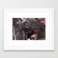 Red Ceremony Framed Art Print