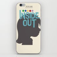 Inside Out - Minimal Mov… iPhone & iPod Skin