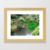 Dragonmander Framed Art Print