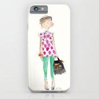 Pink Polka Dots iPhone 6 Slim Case