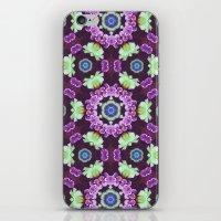 Kaleidoscope - Floral Fa… iPhone & iPod Skin