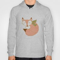 Fashionable Fox - Peach Hoody