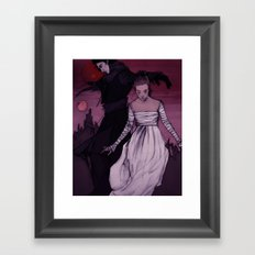 In The Realm Of A Dying … Framed Art Print