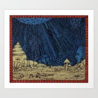 Moon In Mind Art Print