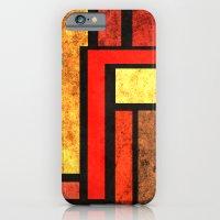 Red Yellow Orange iPhone 6 Slim Case