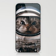 Space Catet iPhone & iPod Skin