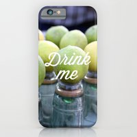 iPhone & iPod Case featuring Drink Me by Shutterbee Photography