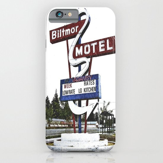 Biltmor Motel sign iPhone & iPod Case