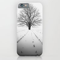 iPhone & iPod Case featuring Spade of Winter by Shaun Lowe