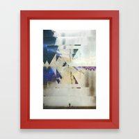 Fractions 01 Framed Art Print
