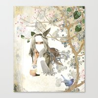 Melody of a Fallen Tree Canvas Print