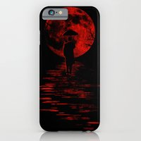 iPhone & iPod Case featuring Rainman in Red by Dianne Delahunty