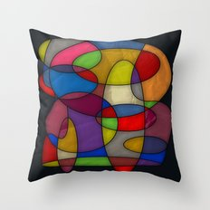 Abstract #314 Throw Pillow