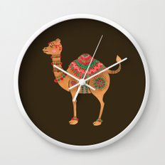 The Ethnic Camel Wall Clock