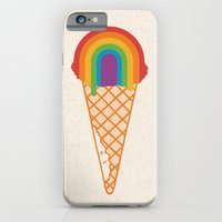 Rainbow Scoop iPhone 6 Slim Case