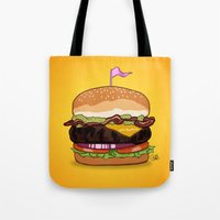 Bacon Cheeseburger Tote Bag