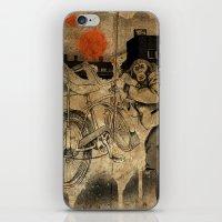 Bo-bo Steals a Ride (alt) iPhone & iPod Skin