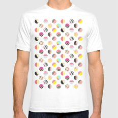 Fun Circle Mens Fitted Tee White SMALL