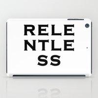 RELENTLESS iPad Case