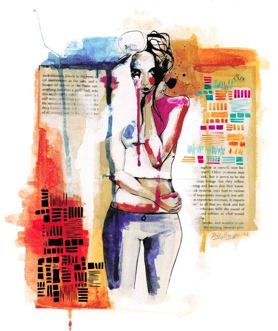 Sense VI Art Print