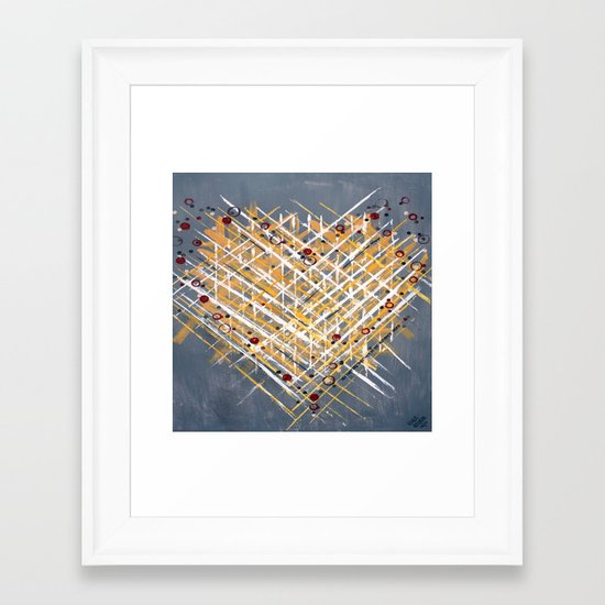 :: You Knit Me Together :: Framed Art Print