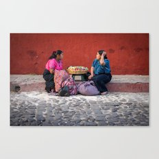 Mercado  Canvas Print