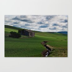 The Old & The New Canvas Print