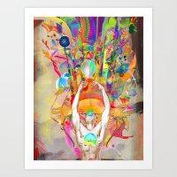 Hydrascensionism Art Print
