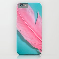 PINK FEATHER 2 Slim Case iPhone 6s