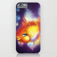 iPhone & iPod Case featuring Goldfish by Lila Cattis