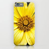 iPhone & iPod Case featuring Color my Garden  Yellow by MistyAnn