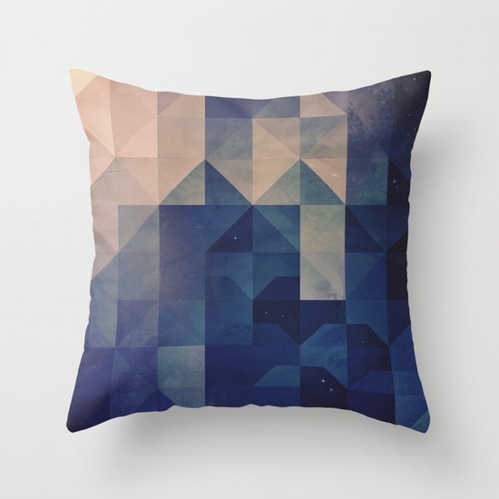 hystyry Throw Pillow