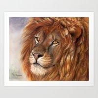 Lion- the King Art Print