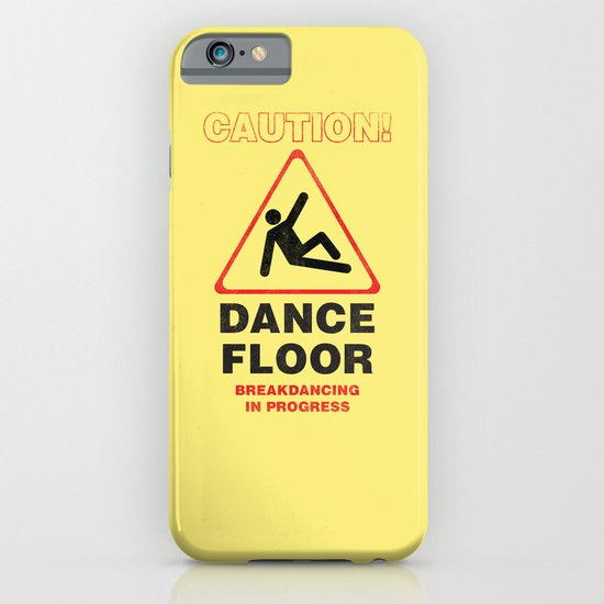 Cuation: breakdancing iPhone & iPod Case