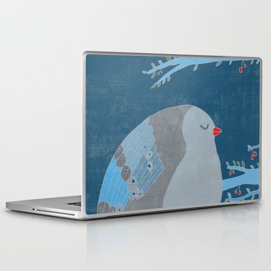 Bird of happiness Laptop & iPad Skin