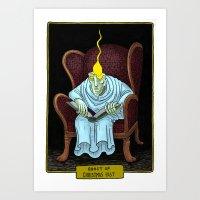 Ghost Of Christmas Past Art Print