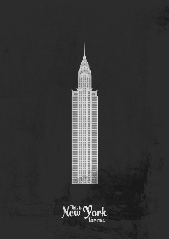 "This is New York for me. ""Chrysler"" Art Print"