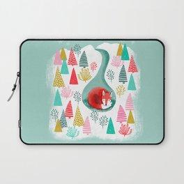 Laptop Sleeve - Winter's Fox by Andrea Lauren  - Andrea Lauren Design