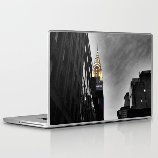 Chrysler Building, New York City Laptop & iPad Skin