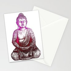 Buddha Red Stationery Cards