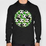 Soccer Ball Football Pat… Hoody