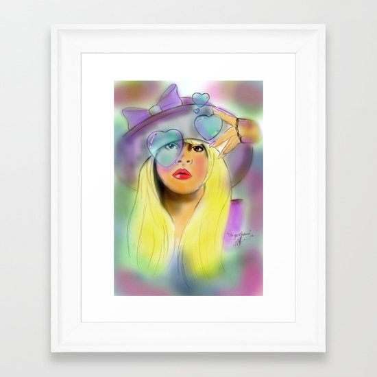 """In Your Dreams"" Framed Art Print"