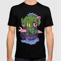 Lagoon SMALL Mens Fitted Tee Black