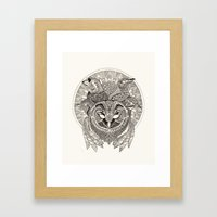 Dawn Chorus Framed Art Print