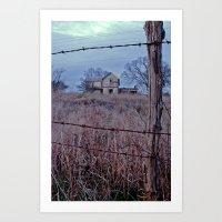 Fenced In Art Print
