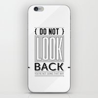 Do Not look back... iPhone & iPod Skin