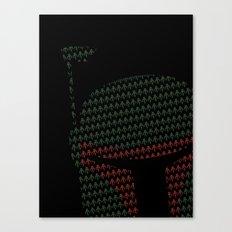 Peek-a-Boba Canvas Print