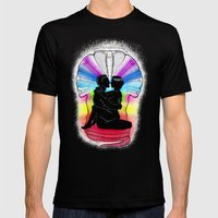 SHAKTI KUNDALINI - the Sacred Sex Mens Fitted Tee Black SMALL