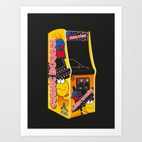 Mum, Can I Have 10p For … Art Print